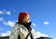Free Woman Hiker Royalty Free Stock Photo - 10163525