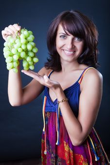 Free Green Grapes Stock Photo - 10163980