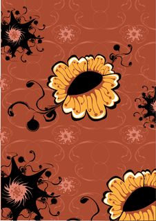 Free Flowers Abstract Pattern Royalty Free Stock Photography - 10164017