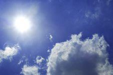 Free Sunny Sky. Stock Photography - 10164132
