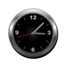 Wall Clock (vector) Royalty Free Stock Photo