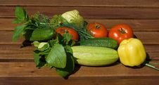 Free Vegetable For Salad Royalty Free Stock Images - 10164749