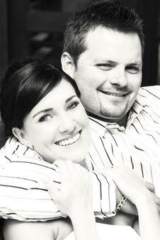 Bridal Couple Stock Photo