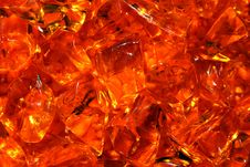 Free Orange Stones Stock Image - 10165181