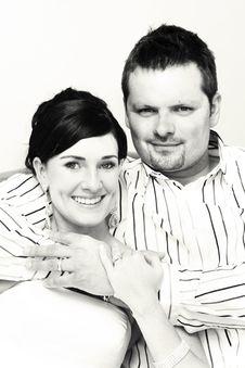 Bridal Couple Stock Image