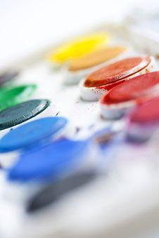 Free Watercolour Palette Stock Photo - 10165370