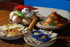 Free Mexican Foods Royalty Free Stock Photography - 10165717