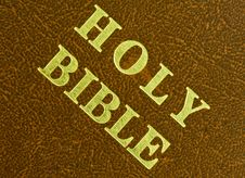 Free Holy Bible Stock Image - 10166711