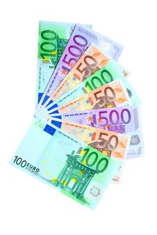 Free Isolated Euros Stock Photography - 10166782