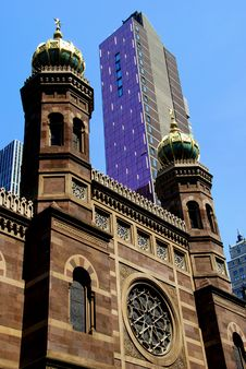 Free NYC: Historic Central Synagogue Royalty Free Stock Photography - 10167357