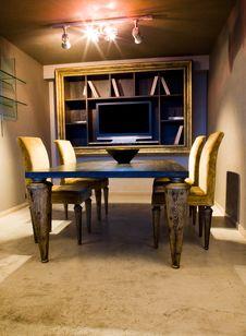 Free Dining Room Interior Stock Photo - 10167400