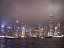 Free Hong Kong Harbour Stock Image - 10167541