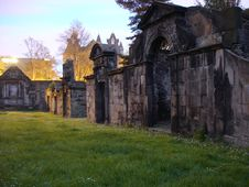 Free Dusk In Greyfriars Graveyard Stock Photo - 10167570