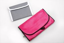 Free Portable Wallet And Bath Bag. Stock Photography - 10167792
