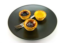 Free Three Jam Tarts Royalty Free Stock Images - 10167899