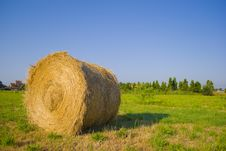 Free Roll Of Straw3 Royalty Free Stock Images - 10167909