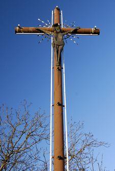 Free Christian Cross On Saint Wojciech Mountain In Barc Royalty Free Stock Photo - 10168295
