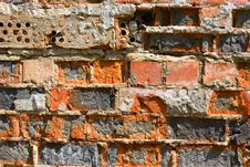 Free Colored Brick Wall Texture Royalty Free Stock Photos - 10168518