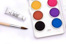 Free Painting Kit Stock Image - 10168681