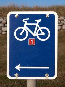 Bicycle Track Stock Photos