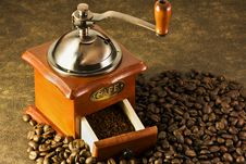 Coffee Grinders Stock Photo