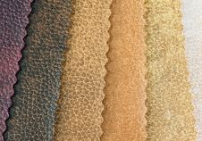 Samples Of Artificial Skin Royalty Free Stock Image