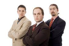 Free Three Men Stock Photo - 10169100