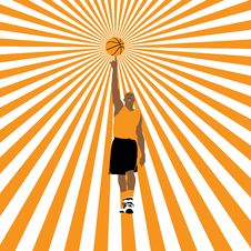Free Basketball Star Stock Photography - 10169102