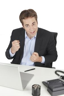 Free Businessman Successful Stock Photo - 10169930