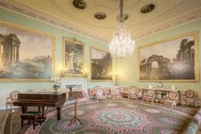 Free Harewood House The Music Room Stock Images - 101603564