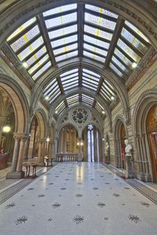 Free Manchester Town Hall Great Hall Foyer Stock Images - 101605224