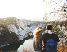 Free Cliffs, Friends, Friendship, Idyllic Royalty Free Stock Images - 101606369