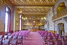 Free Manchester Town Hall Conference Hall Stock Photos - 101606653