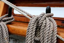 Free Boat Rope & Equipment Stock Photography - 101607652
