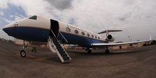 Free Jet Private Gulfstream Stock Photo - 101608840