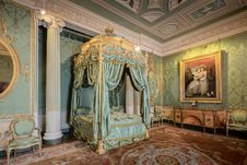 Free Harewood House The State Bedroom Stock Image - 101609881