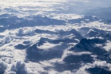 Free Mountain Range, Sky, Cloud, Mountainous Landforms Royalty Free Stock Images - 101696789