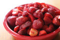 Free Bowl Of Ripe Strawberries Stock Images - 10170094