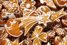 Free Gingerbread Cookies Stock Image - 10170661