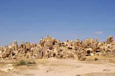 The View Of Cappadocia, Goreme, Turkey Royalty Free Stock Image
