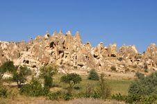 The View Of Cappadocia, Goreme, Turkey Royalty Free Stock Images