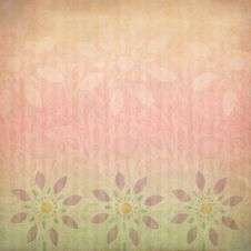 Free Pastel Floral Sunset Stock Image - 10173221