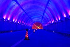 Free Highway And Tunnel Royalty Free Stock Photo - 10173335