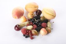 Free Close Up Of Assorted Summer Berries And Apricots Stock Photos - 10173463