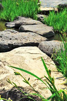 Free Path Paved With Rocks Stock Photos - 10173643