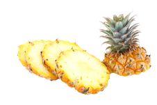 Pineapple Segment Royalty Free Stock Photos