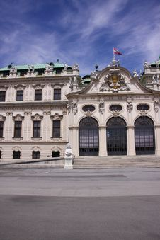 Free Palace Belvedere Royalty Free Stock Photo - 10174485