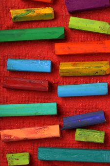 Free Oil Pastels Stock Image - 10175491