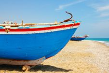 Free Fishing Boat Royalty Free Stock Image - 10176226