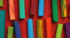Free Oil Pastels Royalty Free Stock Photos - 10176608